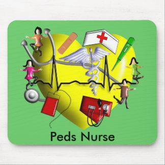 Peds Nurse Gifts-Adorable 3D Graphic ARt Mouse Pad