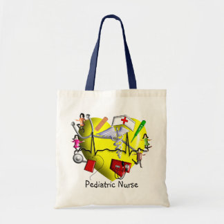 Peds Nurse Gifts-Adorable 3D Graphic ARt Tote Bag