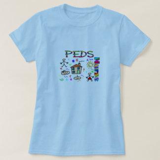 peds nurse KID DRAWING T-Shirt