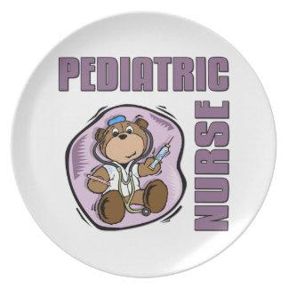 Peds Nurse Melamine Plate