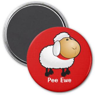 Pee Ewe Magnet