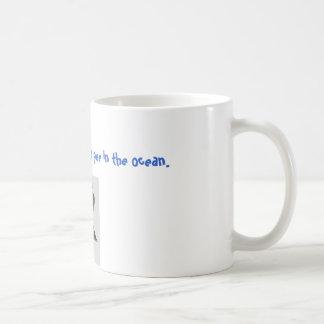 Pee in the ocean Mug