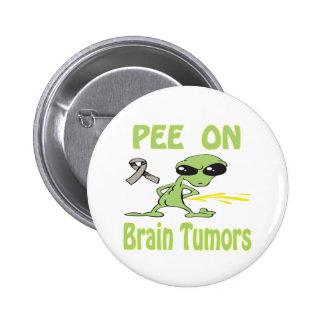Pee On Brain Tumors Button