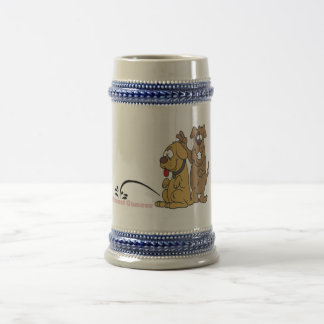 Pee on Breast Cancer Beer Stein