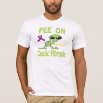 Pee On Cystic Fibrosis Shirt