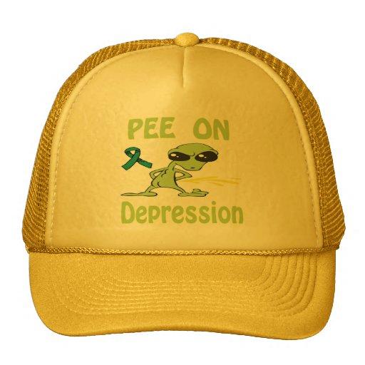 Pee On Depression Hat