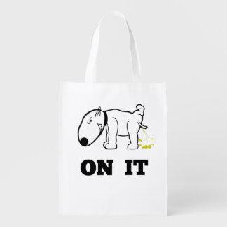Pee On It Reusable Grocery Bag