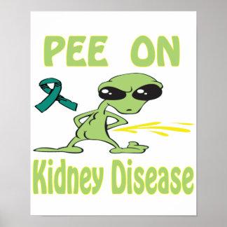 Pee On Kidney Disease Poster