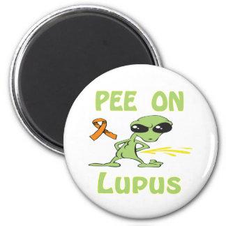 Pee On Lupus Magnet