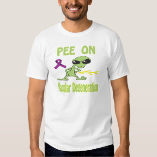 Pee On Macular Degeneration Shirt