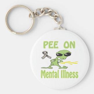 Pee On Mental Illness Keychain