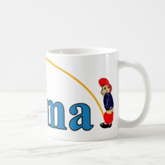 Pee on Obama Classic White Coffee Mug