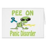 Pee On Panic Disorder Card