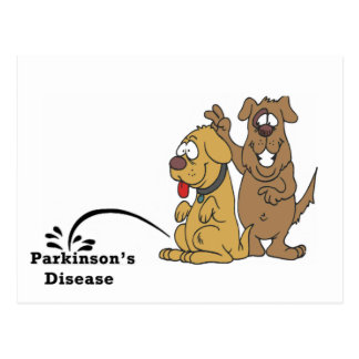 Pee on Parkinson s Disease Post Card