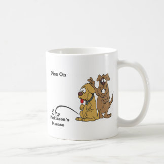 Pee on Parkinson's Disease Classic White Coffee Mug