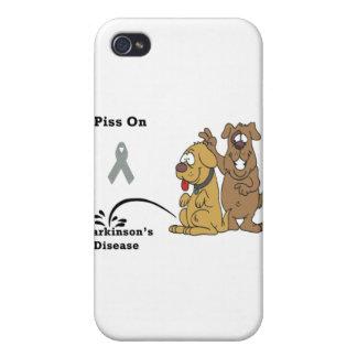 Pee on Parkinson's Disease iPhone 4/4S Cases
