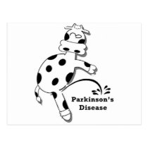 Pee on Parkinson's Disease Postcard