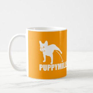 {Pee On} PUPPYMILLS FRENCHIE Coffee Mug