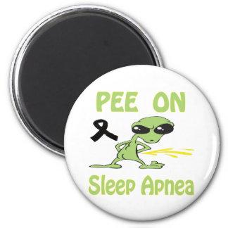Pee On Sleep-Apnea Magnet