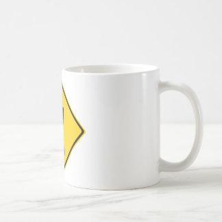 Pee Pants Road Sign Coffee Mug