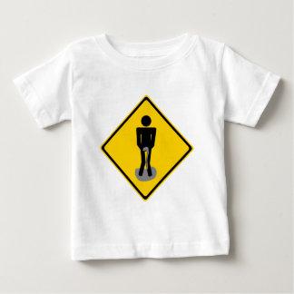 Pee Pants Road Sign Shirts