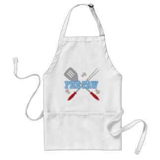 Pee Paw BBQ Grilling Apron Gift
