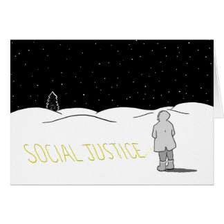 Pee the change you want to see: Social justice Card