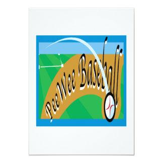 Pee Wee Baseball Card