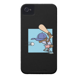 Pee Wee Baseball iPhone 4 Case-Mate Cases