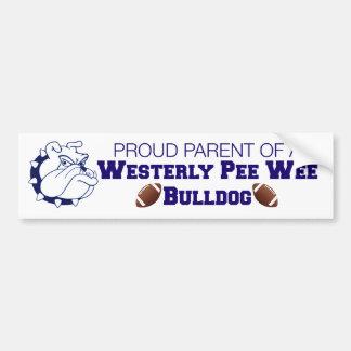 Pee Wee Parent Bumper Sticker Car Bumper Sticker