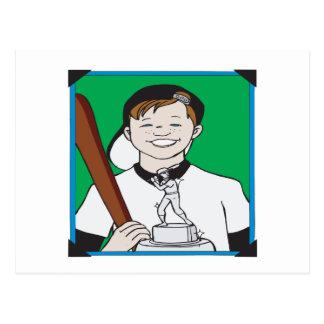 Pee Wee Trophy Postcards