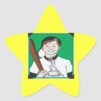 Pee Wee Trophy Star Sticker
