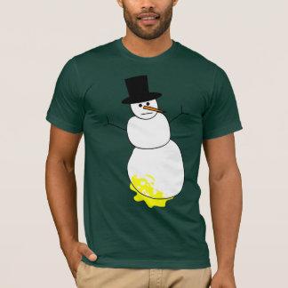 Peed on Snowman T-Shirt