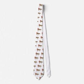 Peeing Dog Tie