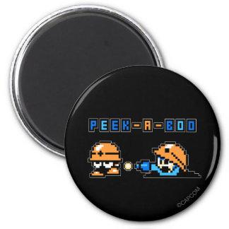 Peek-a-Boo 2 Inch Round Magnet