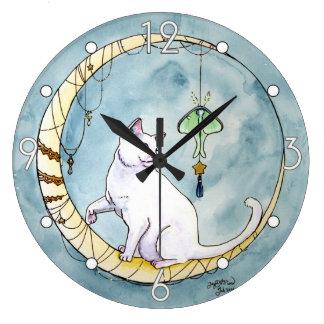 Peek a Boo and the Luna Moth Clock