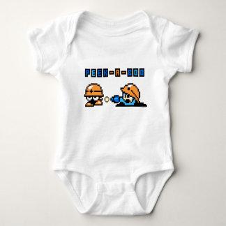 Peek-a-Boo Baby Bodysuit