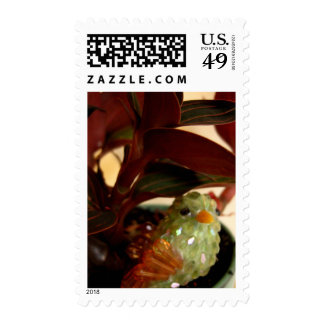 Peek-a-boo Bird Postage Stamps