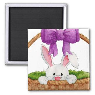 Peek-a-Boo Bunny Magnet