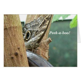 Peek-A-Boo Butterfly Card