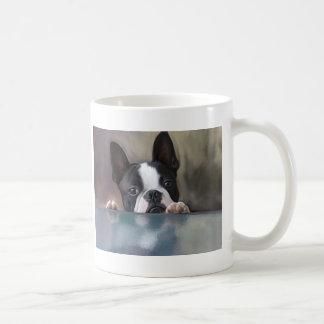 Peek A Boo Classic White Coffee Mug