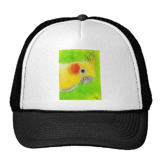 Peek-a-boo Cockatiel Trucker Hat
