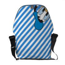 Peek-a-Boo Donald Duck Messenger Bag at Zazzle