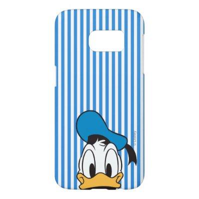 Peek-a-Boo Donald Duck Samsung Galaxy S7 Case