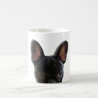 Peek a Boo Frenchie Coffee mug