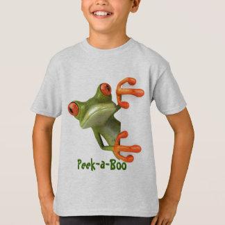 Peek-a-Boo Frog T-Shirt