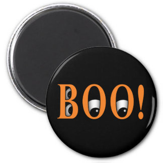 Peek a BOO! Halloween Eyes Fridge Magnet