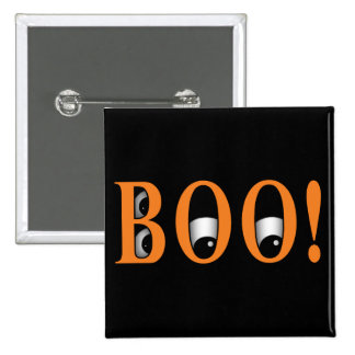 Peek a BOO! Halloween Eyes Pinback Button