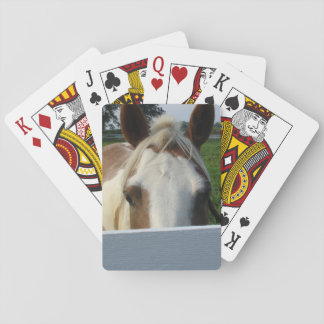Peek a Boo Horse Playing Cards