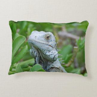 Peek-a-boo Iguana Accent Pillow